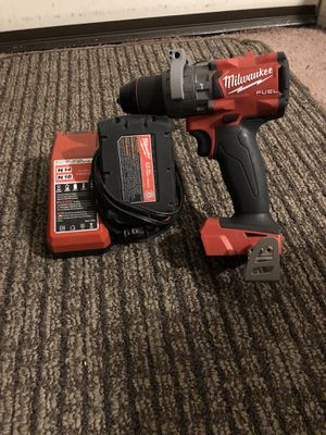 Milwaukee 18v Hammer Drill with battery and charger for Sale in Carson, CA