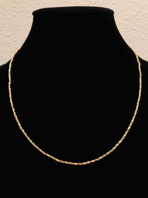 14k Gold Twisted Chain for Sale in San Francisco, CA