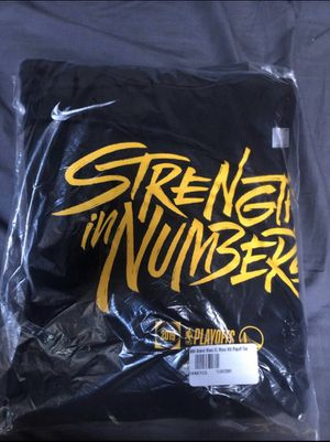 Warriors Strength in Numbers Nike Hoodie for Sale in San Jose, CA