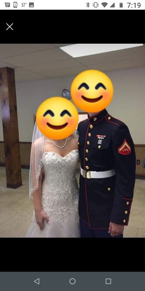 Beaded wedding dress for Sale in Goodlettsville, TN