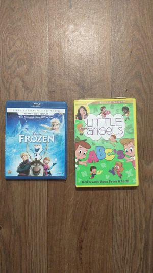 Frozen DVD/blu-ray & little Angels learning DVD for Sale in Fontana, CA
