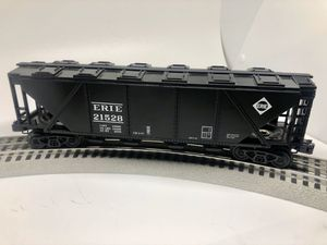 O Scale Bachmann/Williams Traditional Line #47622 3 Rail Quad Hopper Erie #21528 for Sale in Mechanicsburg, PA