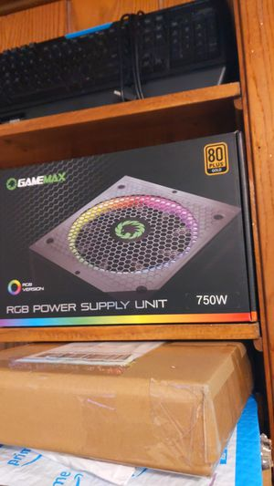 Gamemax 750w PSU Moduler 80+Gold for Sale in East Troy, WI