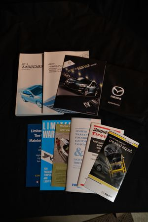 2011 Mazda 3 glovebox book and documents for Sale in Westerville, OH