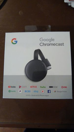 NIB Google Chromecast 2nd Gen for Sale in Philadelphia, PA