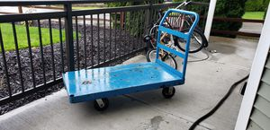 Heavy duty flat cart for Sale in Vancouver, WA