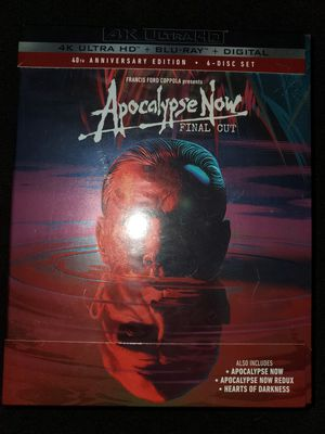 *NEW* Apocalypse Now Final Cut 4K UHD/HDR Bluray (6 Disc) for Sale in Spring, TX
