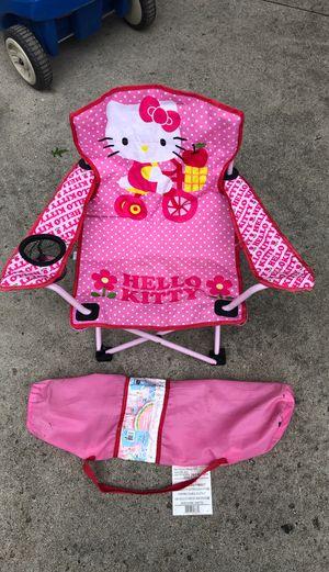 Hello Kitty girls outdoor/ indoor chair for Sale in Dearborn, MI