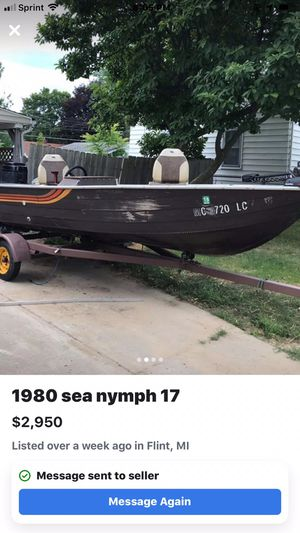 1980 sea nymph 17 for Sale in MI, US