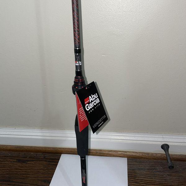 "Abu Garcia Vendetta Spinning Rod 6'6"" Medium Heavy Fast - Brand New!"