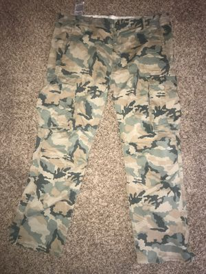Levi's camo camouflage pants for Sale in Bremerton, WA