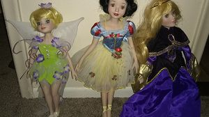 Disney porcelain dolls for Sale in Phoenix, AZ