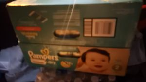 Pampers size 2 baby diapers. for Sale in Alpharetta, GA