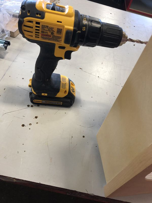 Dewalt 20v drill with battery