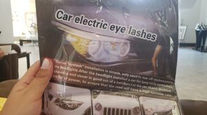 PACK OF EYELASHES FOR CAR NEW NEVER USED SELLING AT $5 for Sale in Miami, FL