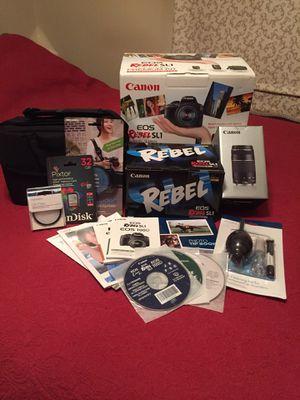 Canon EOS Rebel SL1 Digital Camera Premium Kit for Sale in Marietta, GA