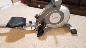 Sunny Health Fitness SF-RW5515 Magnetic Rowing Machine, LCD Monitor for Sale in Hyattsville, MD