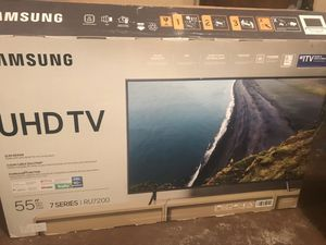 55 inch Samsung 7series 4K smart tv for Sale in Stone Mountain, GA