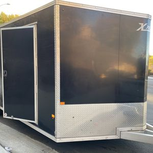 22ft Enclosed Alluminum Trailer for Sale in Highland, CA
