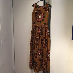 Hand-Crafted Rwanda Igitenge Maxi Dress for Sale in Washington, DC