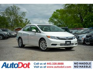 2012 Honda Civic Sdn for Sale in Sykesville, MD