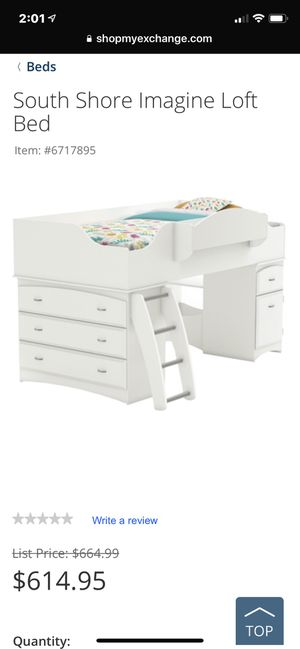 NEW Loft Bed for boy or girl! for Sale in Troy, MO