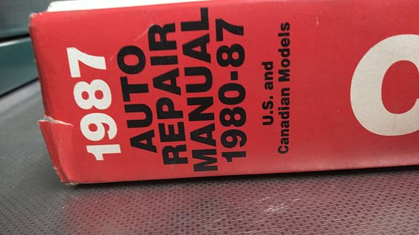 Automobile repair manual