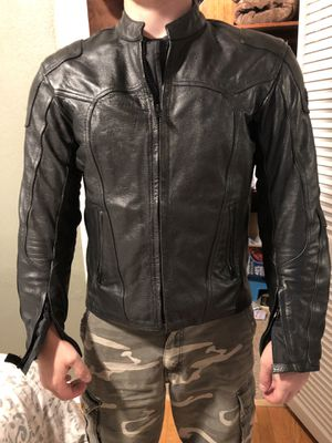 BiLT men's leather motorcycle jacket for Sale in Tacoma, WA
