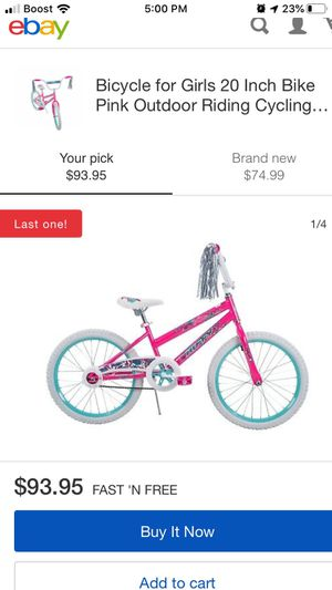 Girls bike brand new for Sale in Pittsburgh, PA