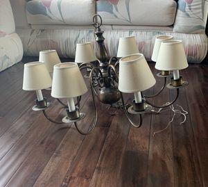 8-Lights Bronze Chandelier Ceiling Light for Sale in Fremont, CA