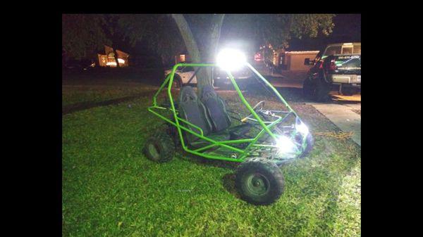 RUNNING 150cc 2 Seater GoCart GoKart
