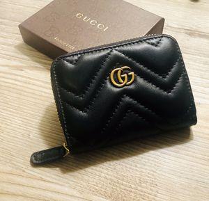 Gucci Mormont Auth wallet black for Sale in Miami, FL