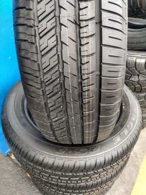 Set tires Goodyear Eagle 235/55R18 $320 cash ESPECIAL PRICE Mount and balance 98% of life for Sale in Pico Rivera, CA