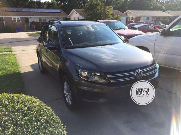 2016 Volkswagen Tiguan Nearly New