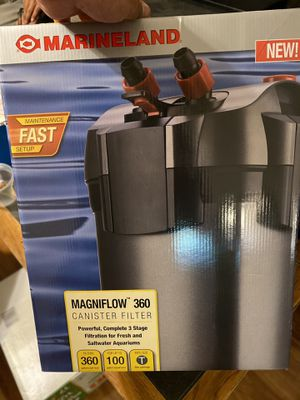 Marine land fish filter for Sale in Colton, CA