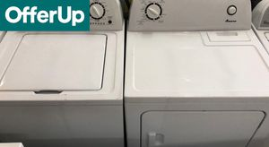 📢📢Amana Washer Electric Dryer Set Works Perfect Delivery Available #1159📢📢 for Sale in Orlando, FL