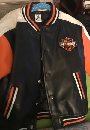 size 4 T Harley Davidson jacket for Sale in Lincoln Park, MI