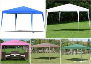 EZ Outdoor Backyard Shelter Wedding Awning Canopy Gazebo Pool Party Up Patio Set Tent BBQ Cover for Sale in PORT WENTWRTH, GA