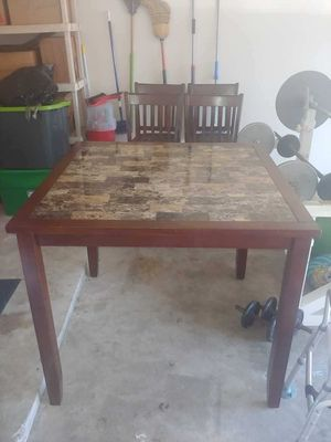 Counter Height Kitchen Table and Chairs for Sale in Houston, TX