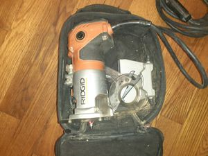 Ridgid corded router for Sale in Nashville, TN