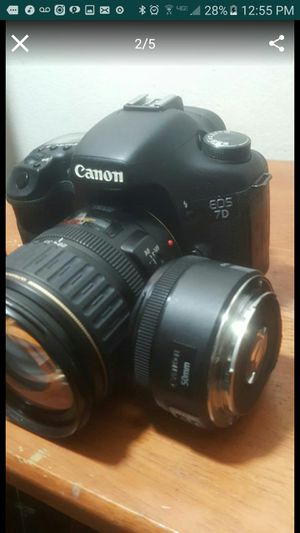 CANON 7D with 50mm LENSE only low price for Sale in Houston, TX