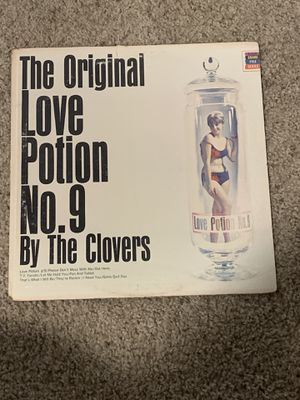 The Clovers: The Original Love Potion No. 9 LP Vinyl for Sale in New Braunfels, TX