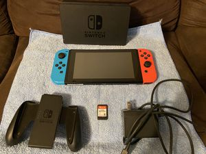 Nintendo Switch and Super Smash Bros. Ultimate for Sale in Canyon Lake, CA