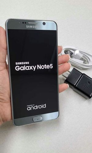 SAMSUNG Galaxy Note 5, Factory Unlocked, Excellent condition As like new. for Sale in Springfield, VA