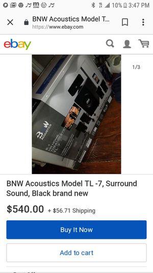BNW Accoustics surround sound system for Sale in Goodlettsville, TN