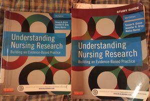 Understanding Nursing Research Book & study guide for Sale in El Segundo, CA