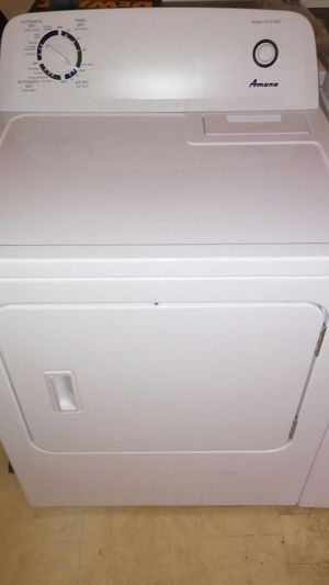 Amana electric dryer super capacity for Sale in Austin, TX