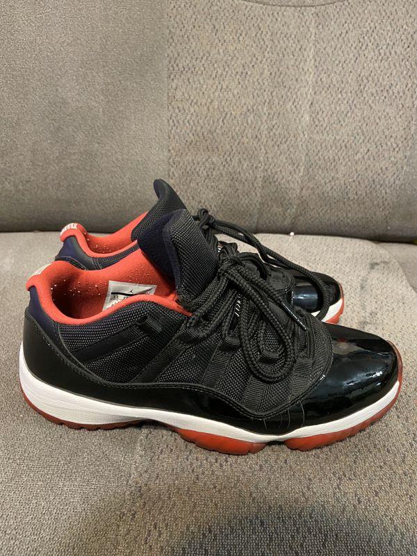 Jordan breds 11 lows size 8.5