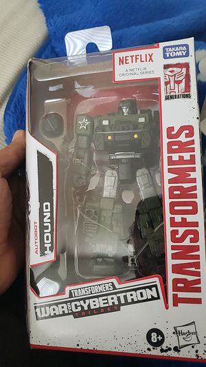 Transformers War for Cybertron Netflix Autobot Hound for Sale in West Covina, CA