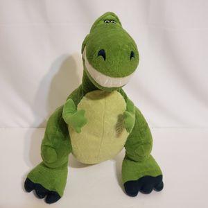 "Toy Story Rex Plush Kohls Cares 12"" Disney Dinosaur T-Rex Stuffed Animal Green for Sale in Brookfield, IL"